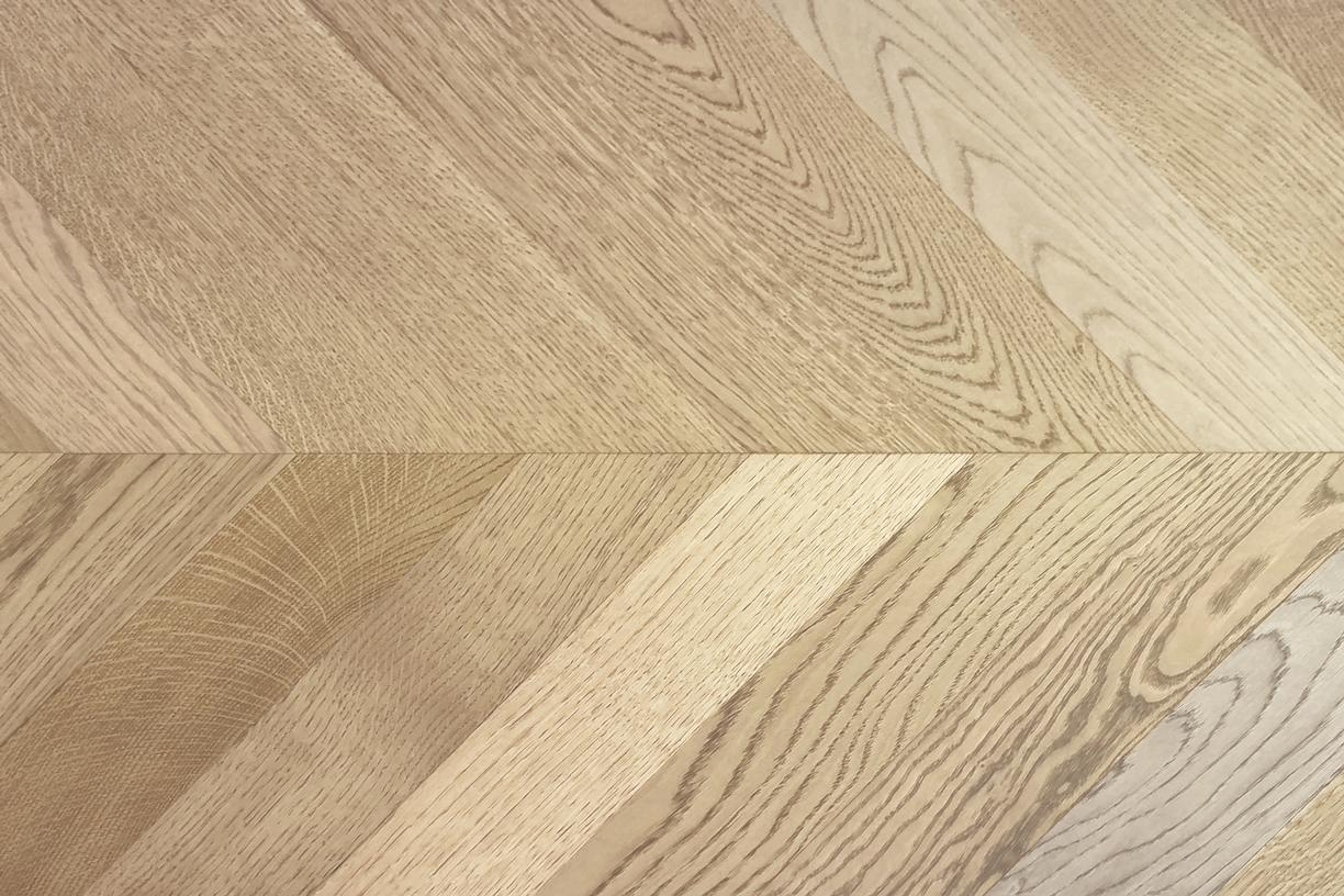 Pale Oak Chevron