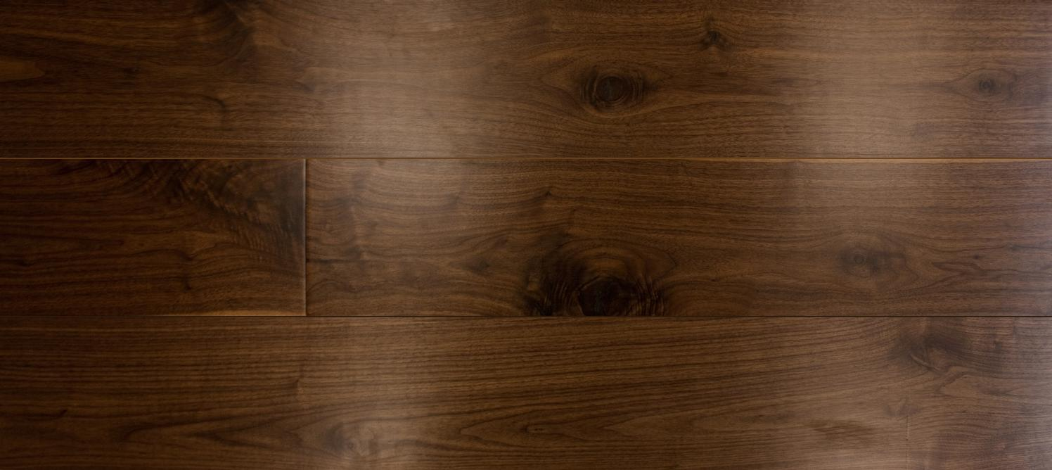 Clear Lacquered Walnut