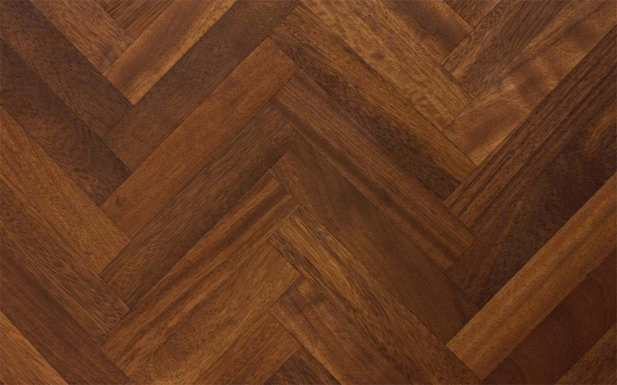 Solid Iroko Parquet Blocks