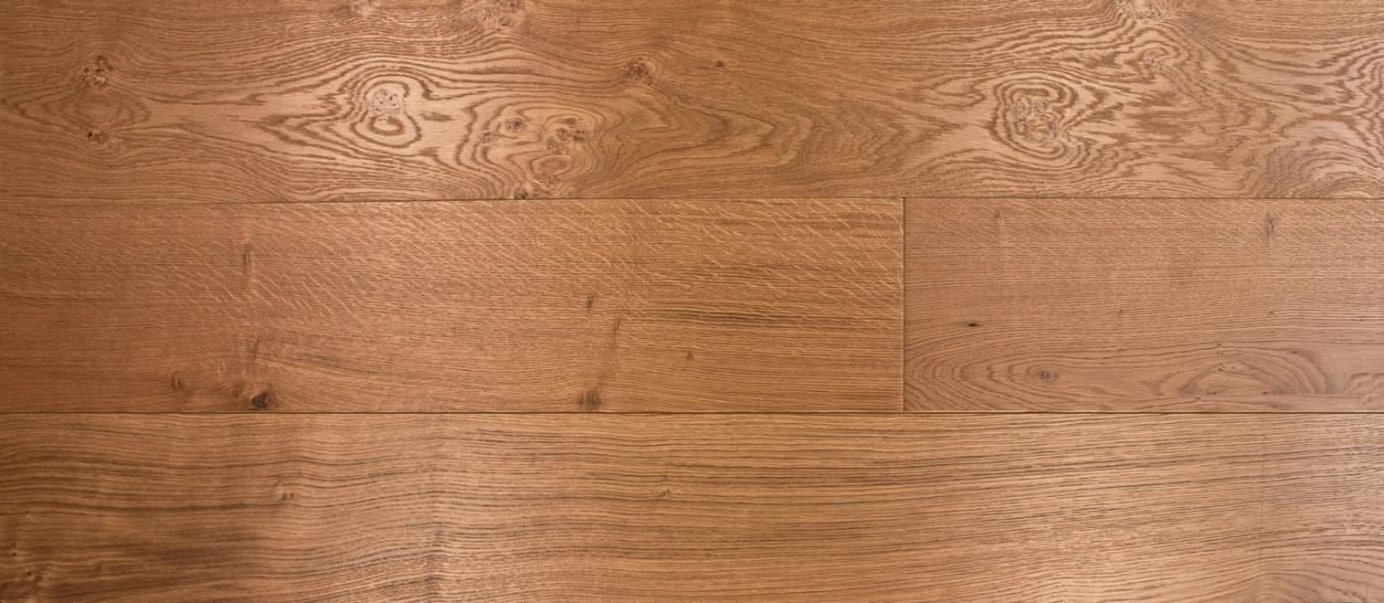 Clear Satin Brushed UV Oiled Oak