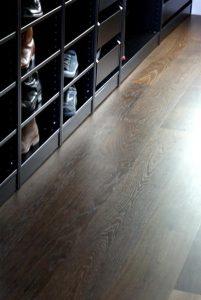 Istoria Bespoke Fumed Oak Wood Flooring by Jordan Andrews