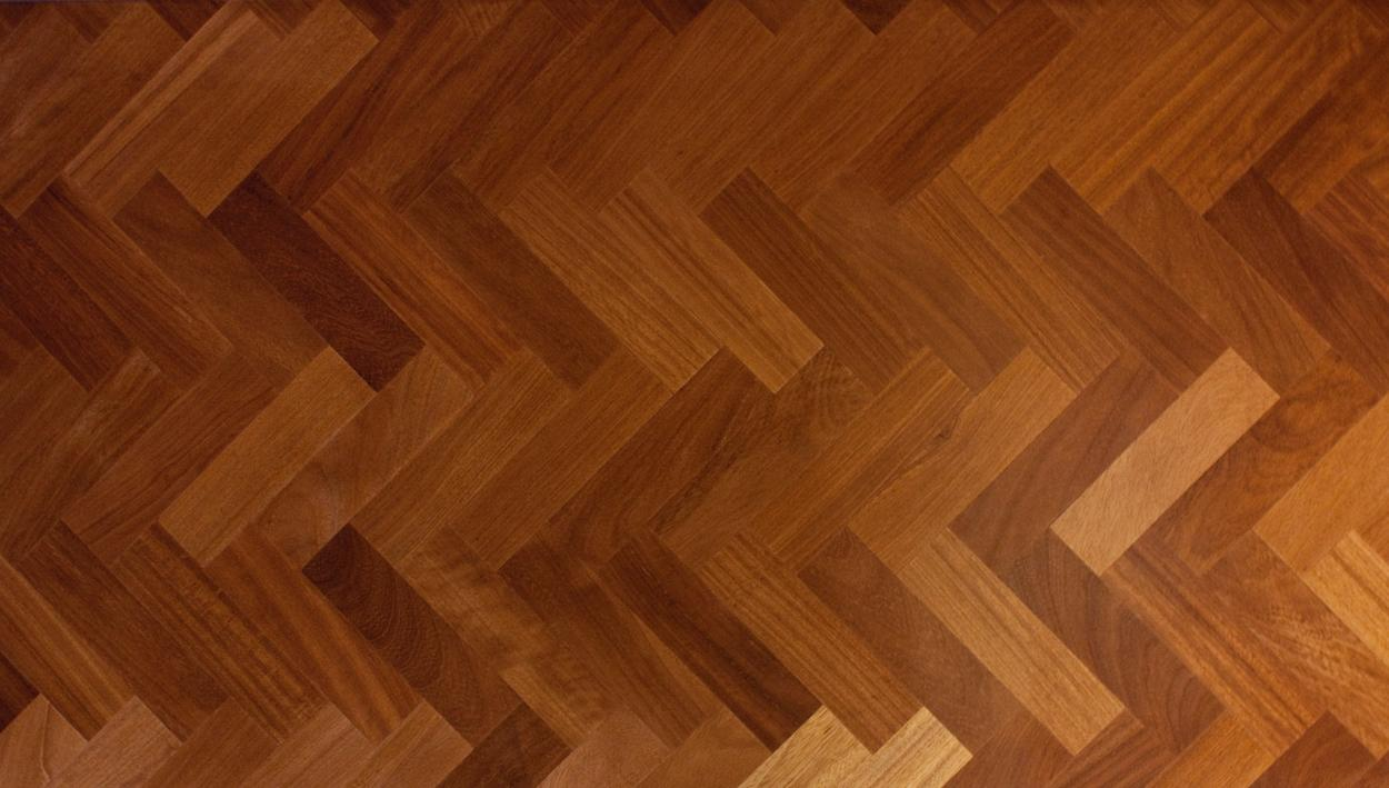 Solid Iroko Parquet Blocks Slide 1