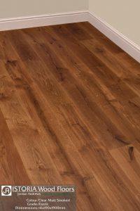 Clear Matt Smoked Natural Istoria Bespoke Engineered Oak Wood Flooring by Jordan Andrews