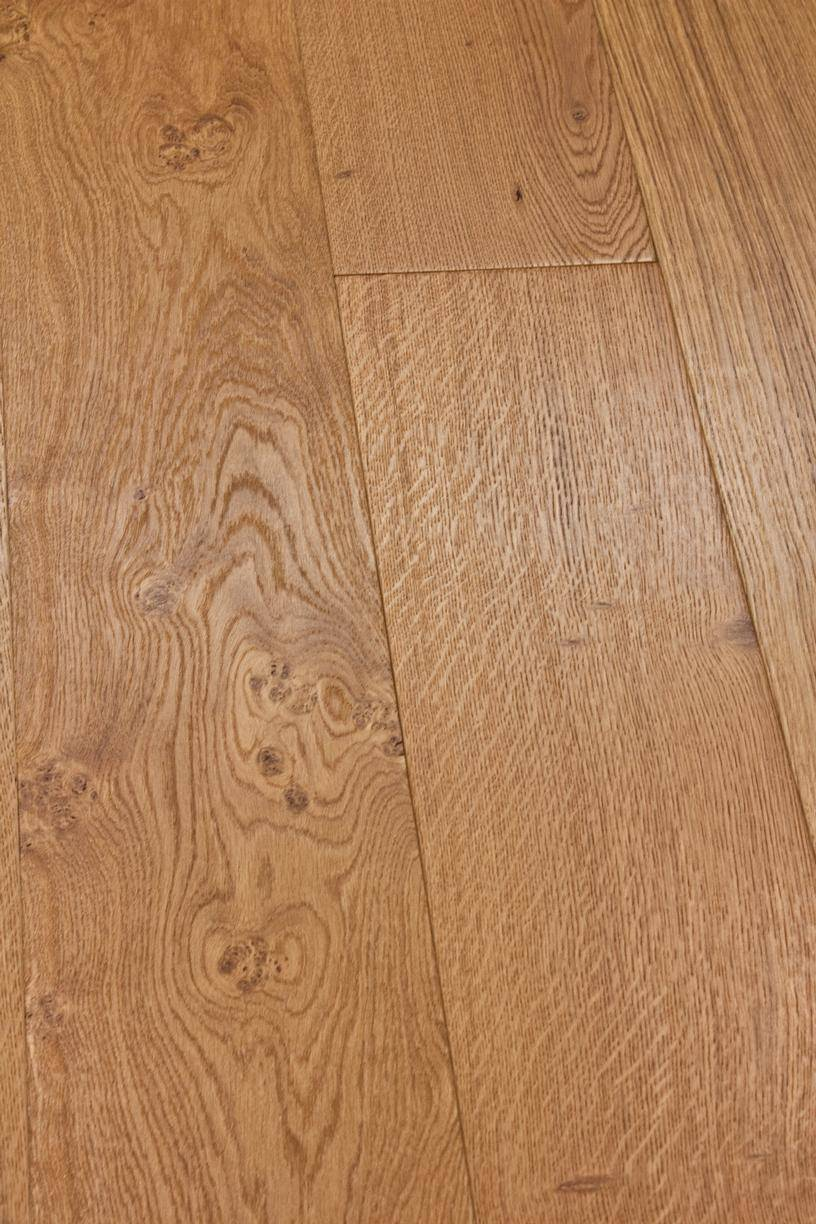 Clear Satin Brushed UV Oiled Oak Slide 1
