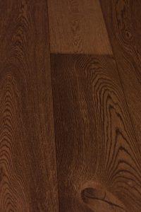 Cardiff Brown Brushed Surface Istoria Bespoke Engineered Oak Wood Flooring by Jordan Andrews