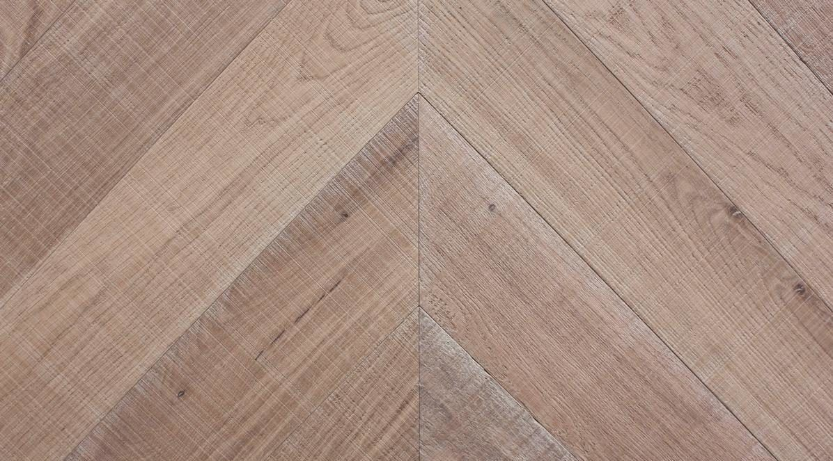 Sawn Raw Engineered Chevron Slide 2