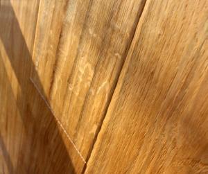 Istoria Bespoke Vintage Sahara Hand Scrapped Engineered Golden Oak Wood Flooring by Jordan Andrews