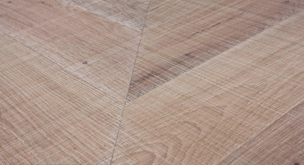Sawn Raw Engineered Chevron Slide 1