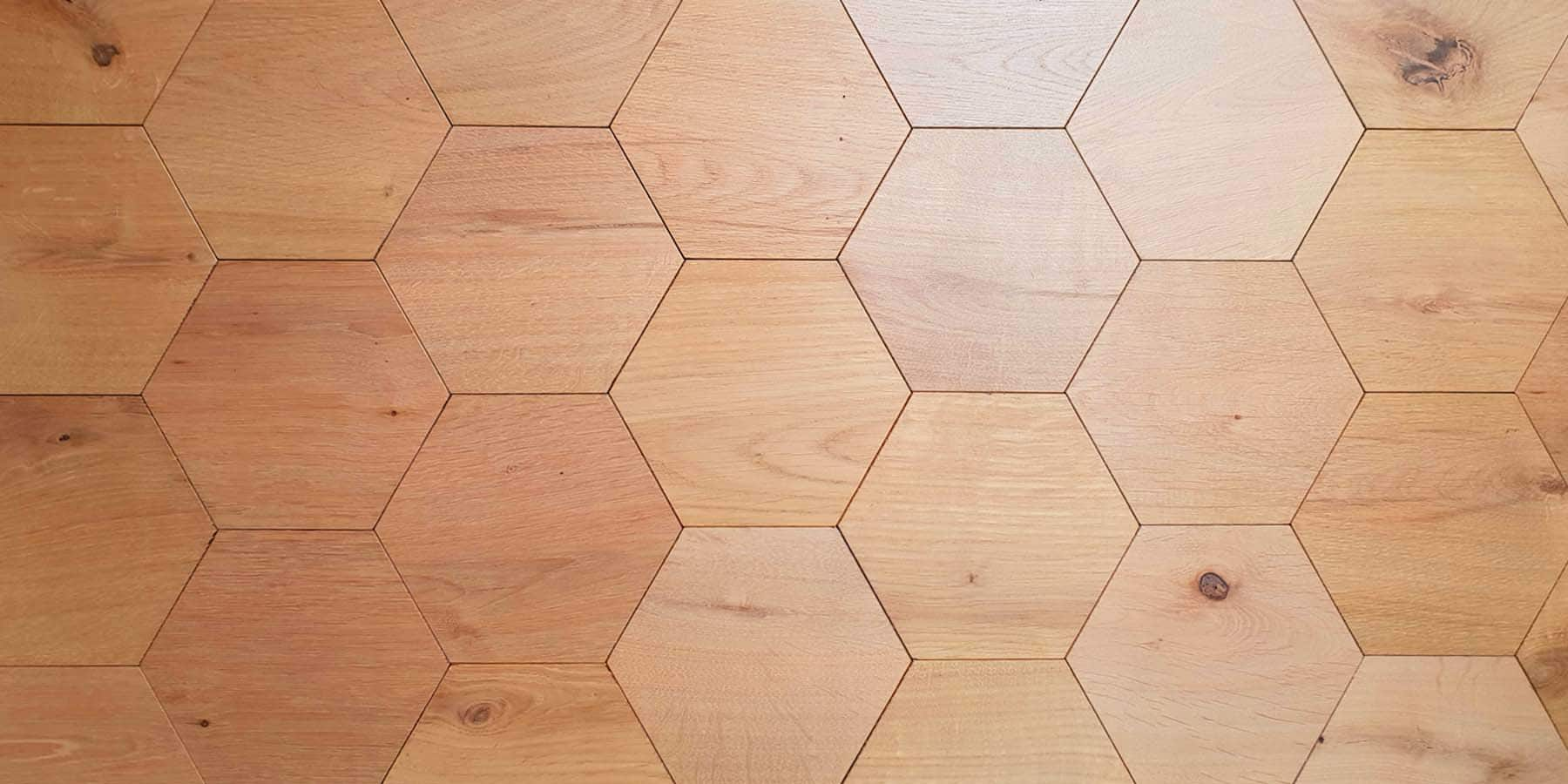 English Honeycomb Hexagon
