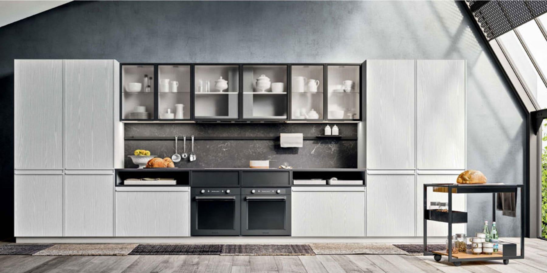 Dorchena by Istoria White Wood Kitchen Composit Pepper